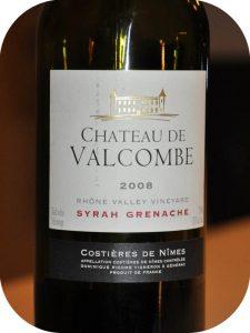 2008 Château de Valcombe, Syrah Grenache, Languedoc, Frankrig