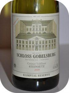 2009 Weingut Schloss Gobelsburg, Grüner Veltliner Steinsetz, Kamptal, Østrig