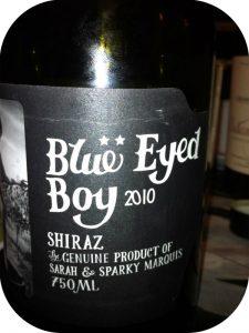 2010 Mollydooker, Blue Eyed Boy Shiraz, Mclaren Vale, Australien