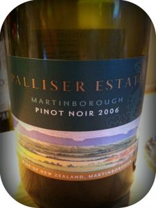 2006 Palliser Estate, Pinot Noir, Martinsborough, New Zealand
