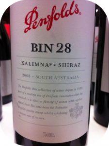 2008 Penfolds, Bin 28 Kalimna Shiraz, Barossa, Australien