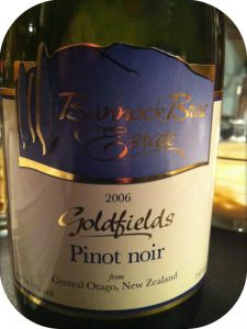 2006 Bannock Brae Estate, Goldfields Pinot Noir, Central Otago, New Zealand