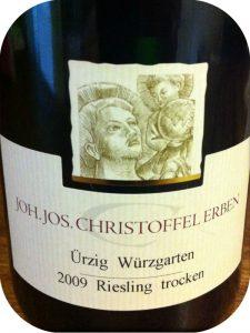 2009 Weingut Joh. Jos. Christoffel Erben, Ürzig Würzgarten Riesling Trocken, Mosel, Tyskland