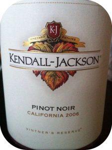 2006 Kendall-Jackson, Vintner's Reserve Pinot Noir, Californien, USA