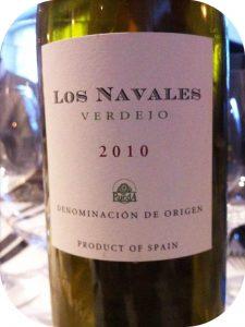 2010 Viñedos de Nieva, Los Navales Verdejo, Rueda, Spanien