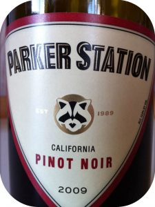 2009 Fess Parker Winery, Parker Station Pinot Noir, Californien, USA