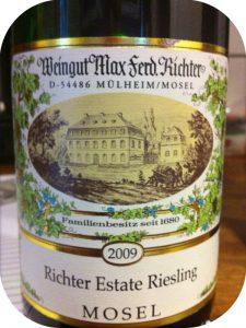 2009 Weingut Max Ferd. Richter, Richter Estate Riesling, Mosel, Tyskland