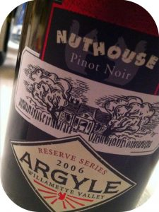 2006 Argyle Winery, Nuthouse Pinot Noir, Oregon, USA
