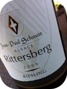2009 Jean-Paul Schmitt, Rittersberg Riesling, Alsace, Frankrig