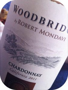 2011 Robert Mondavi, Woodbridge Chardonnay, Californien, USA