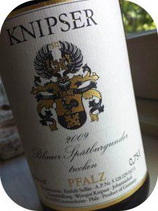 2009 Weingut Knipser, Blauer Spätburgunder Trocken, Pfalz, Tyskland