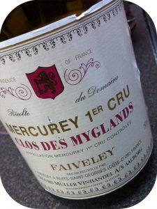 2004 Domaine Faiveley, Mercurey 1er Cru Clos du Myglands, Bourgogne, Frankrig