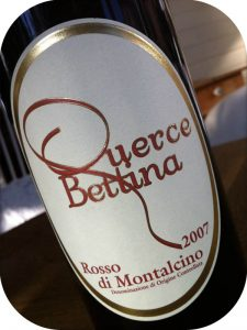 2007 Querce Bettina, Rosso di Montalcino, Toscana, Italien