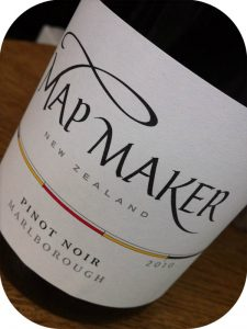 2010 Staete Landt, Map Maker Pinot Noir, Marlborough, New Zealand