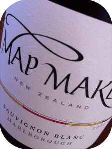 2011 Staete Landt, Map Maker Sauvignon Blanc, Marlborough, New Zealand