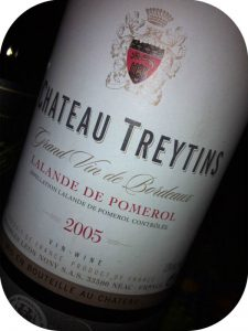 2005 Château Treytins, Lalande de Pomerol, Bordeaux, Frankrig