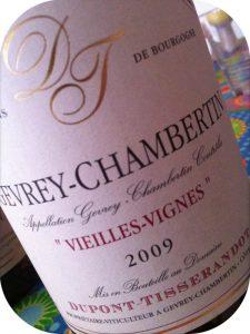 2009 Domaine Dupont-Tisserandot, Gevrey-Chambertin Vieilles-Vignes, Borgogne, Frankrig
