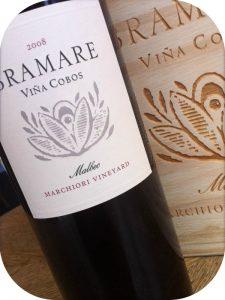 2008 Viña Cobos, Bramare Malbec Marchiori Vineyard, Mendoza, Argentina