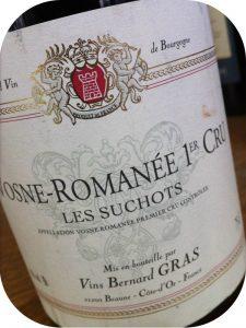 2004 Bernard Gras, Vosne-Romanée 1er Cru Les Suchots, Bourgogne, Frankrig