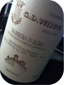 2010 G.D. Vajra, Barbera D'Alba, Piemonte, Italien