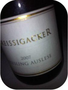 2007 Weingut Dreissigacker, Riesling Auslese, Rheinhessen, Tyskland