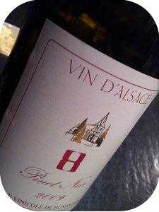 2009 Cave Vinicole de Hunawihr, Pinot Noir 8, Alsace, Frankrig