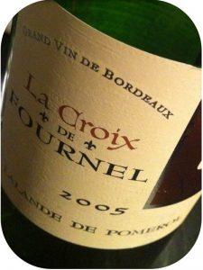 2005 La Croix de Fournel, Lalande-de-Pomerol, Bordeaux, Frankrig
