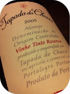 2005 Tapada do Chaves, Reserve Red, Alentejo, Portugal