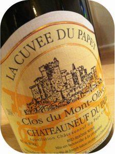 2004 Clos du Mont-Olivet, Châteauneuf-du-Pape Cuvée Papet, Rhône, Frankrig
