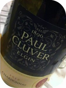 2010 Paul Cluver, Chardonnay, Elgin, Sydafrika