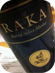 2008 Raka Wines, Barrel Select Merlot, Overberg, Sydafrika
