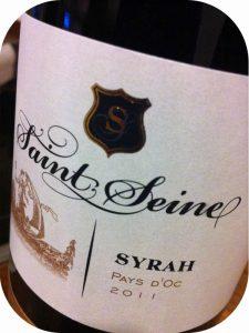 2011 Badet Clément & Co, Vin de Pays d'Oc Saint-Seine Syrah, Languedoc-Roussillon, Frankrig