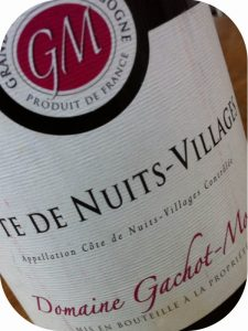 2007 Domaine Gachot-Monot, Côtes de Nuits-Villages, Bourgogne, Frankrig