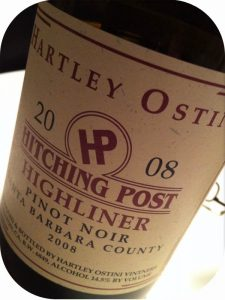 2008 Hartley-Ostini Hitching Post Winery, Highliner Pinot Noir Santa Barbara County, Californien, USA