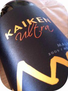 2009 Kaiken, Malbec Ultra, Mendoza, Argentina