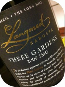 2009 Langmeil Winery, Three Gardens SMG, Barossa Valley, Australien