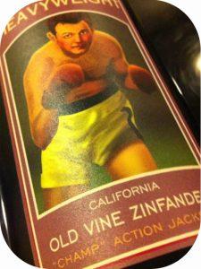 2009 Scotto Cellars, Heavyweight Old Vine Zinfandel Champ Action Jackson, Californien, USA