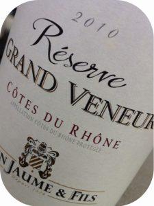 2010 Alain Jaume & Fils, Réserve Grand Veneur Côtes du Rhône, Rhône, Frankrig