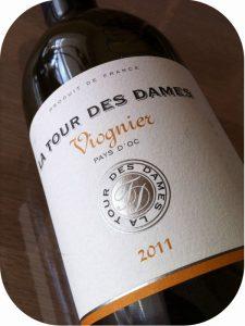 2011 La Tour des Dames, Viognier Vin de Pays, Languedoc-Roussillon, Frankrig