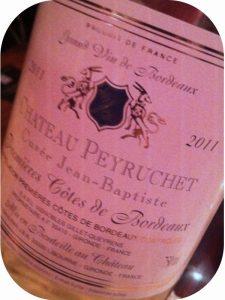 2011 Château Peyruchet, Cuvée Jean-Baptiste 1. Côtes de Bordeaux Moelleux, Bordeaux, Frankrig
