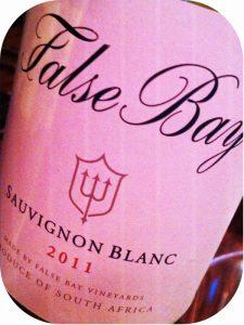 2011 False Bay Wines, Sauvignon Blanc, Stellenbosch, Sydafrika