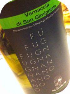 2011 Fattoria di Fugnano, Vernaccia di San Gimignano, Toscana, Italien