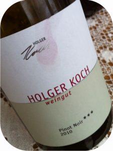 2010 Weingut Holger Koch, Pinot Noir Selection ***, Baden, Tyskland