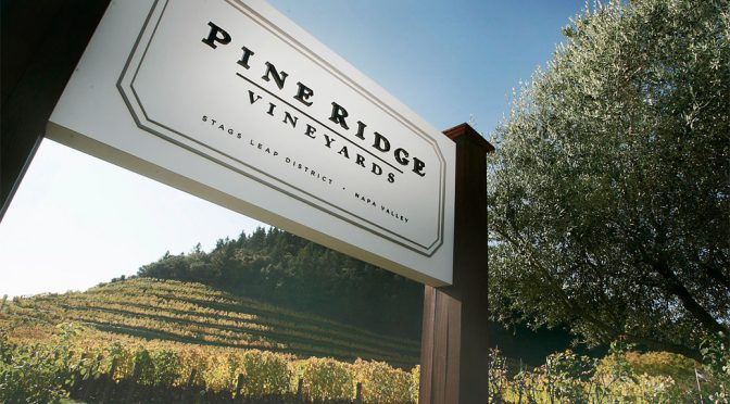 2010 Pine Ridge Vineyards, Forefront Pinot Noir, Californien, USA