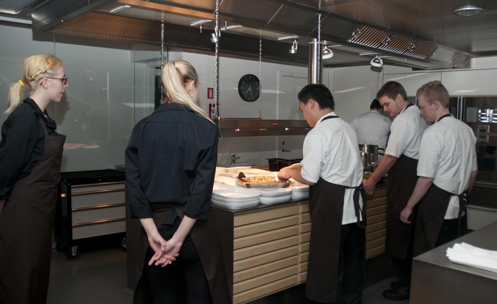 Villa Dining - køkkenet