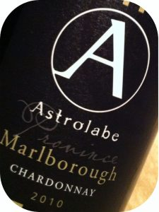 2010 Astrolabe Wines, Chardonnay, Marlborough, New Zealand