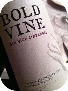 2010 DFV Wines, Bold Vine Old Vine Zinfandel, Californien, USA