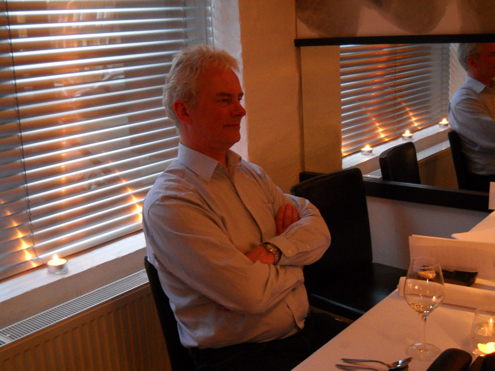 Niels lytter til Pers vrøvl