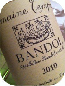 2010 Domaine Tempier, Bandol Rouge, Bandol, Frankrig