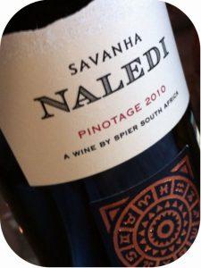 2010 Spier Wines, Savanha Naledi Pinotage, Stellenbosch, Sydafrika
